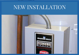 New Installation of hot water heaters